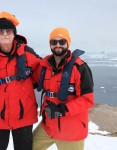 Bob and Colin Antarctica