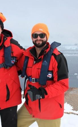 Bob and Colin Antarctica